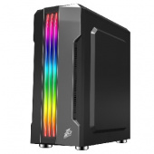 1STPLAYER RAINBOW R3-A / ATX, tempered glass side panel / 1x 120mm LED fan inc. / R3-A-1R1