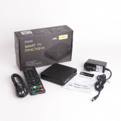 ATOM 216AM SMART_BOX/ULTRA_HD/SMART_TV(Android 7.1/2G/16Gb)