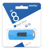 SMARTBUY 8GB STREAM BLUE