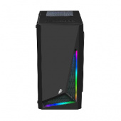 1STPLAYER RAINBOW R2 / mATX, tempered glass side panel / 1x 120mm LED fan inc. / R2-1R1